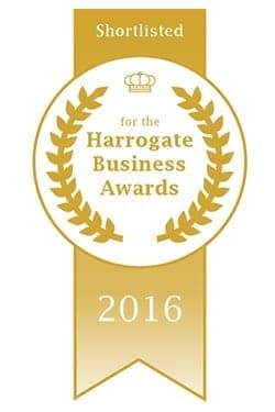 Nominee for the Harrogate Business Awards