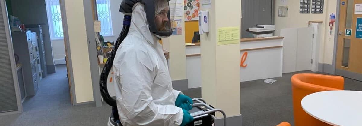 Coronavirus commercial disinfectant treatments nationally