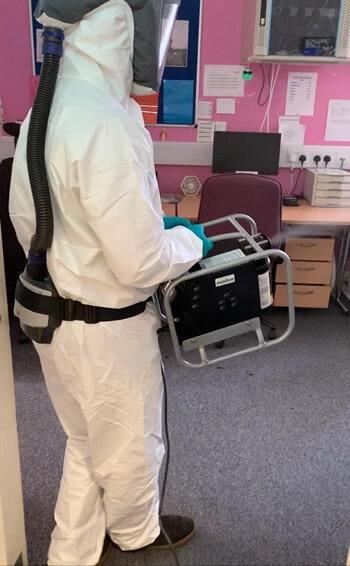 commercial premises coronavirus treatment